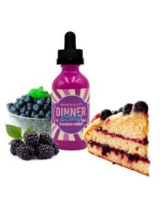 Blackberry Crumble, Dinner Lady 50ml (BOOSTER)