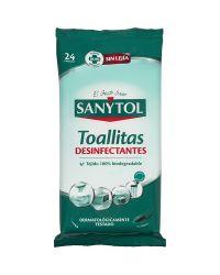 Sanytol Toallitas Desinfectantes Multiusos 24 Uds