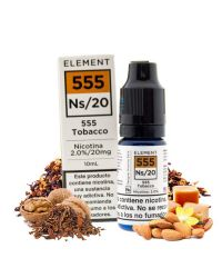 555 Tobacco (Element Salt) 10ml