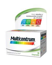 Multicentrum para Adultos 30 Comprimidos