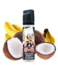 Poker Fruits Batido de Coco y Plátano 50ml
