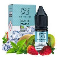 Pod Salt PachaMama Strawberry Kiwi Ice 10ml 20mg