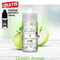 P.U.R.E Green Apple 50ml shortfill