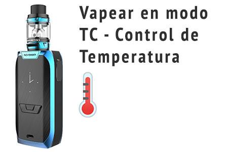 Vapeo control temperatura