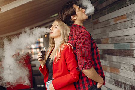 Vapear vs Fumar