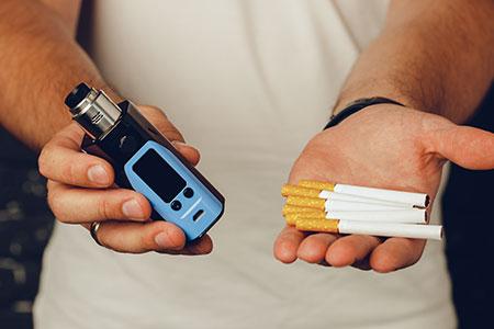 Vapeo vs Fumar